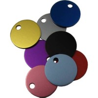 Anodised Aluminium Pet Disc 19mm